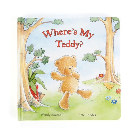 Where Is My Teddy Libro in Inglese - RocketBaby - 1