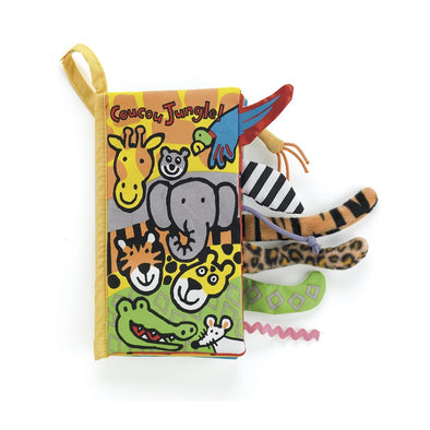 Coucou Jungle Book Libro Morbido in Francese - JELLY CAT - RocketBaby.it - RocketBaby