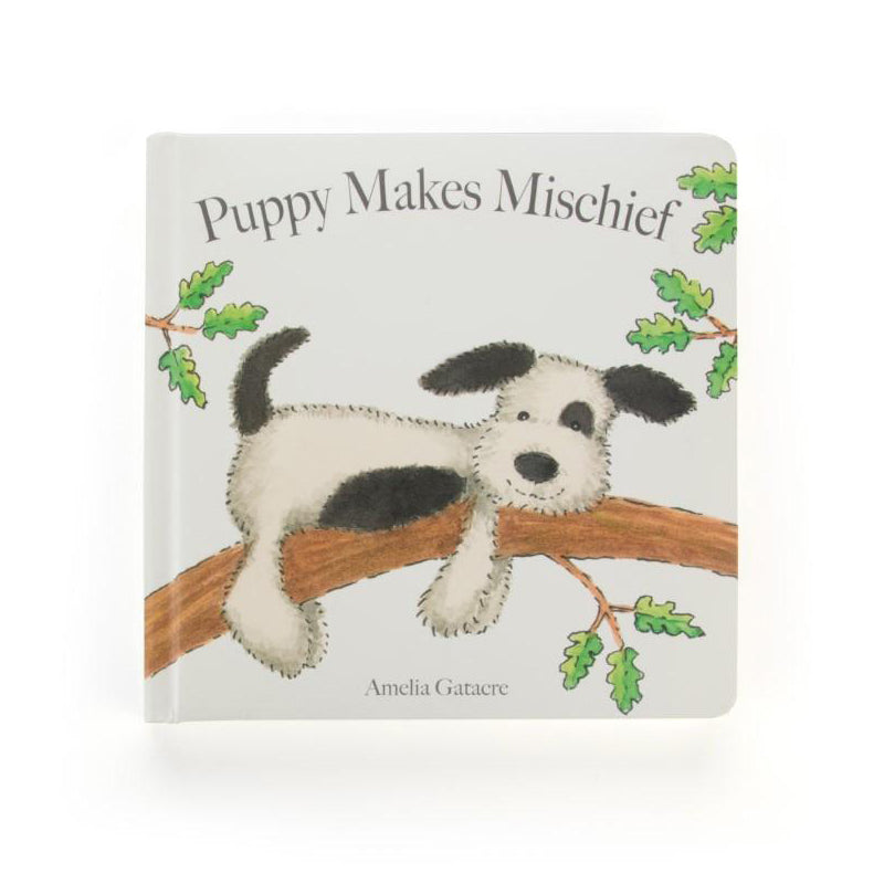 Puppy Makes Mischief Book Libro in Inglese - RocketBaby - 1