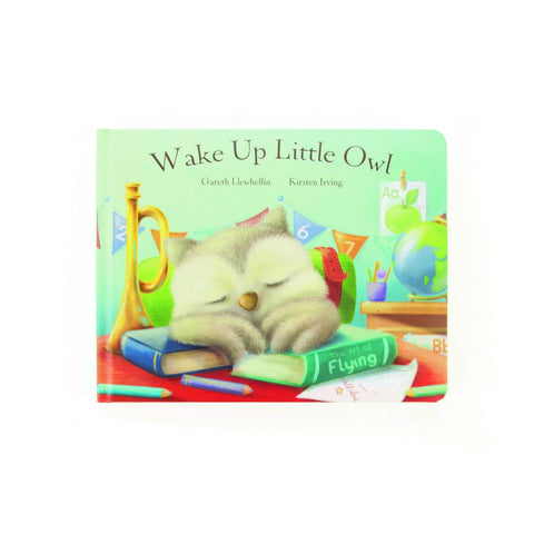 Wake Up Little Owl Book Libro in Inglese - RocketBaby - 1