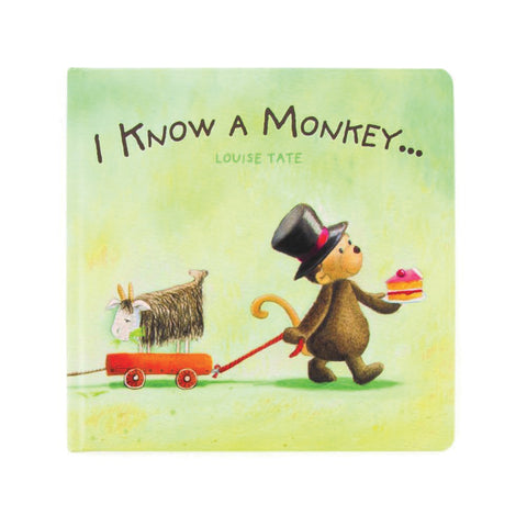 I Know A Monkey Book Libro in Inglese | JELLY CAT | RocketBaby.it