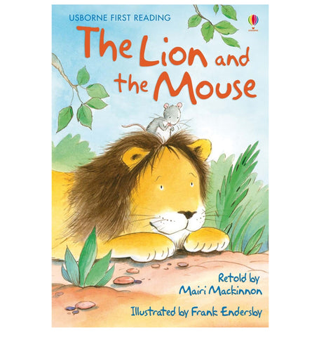 Libro in Inglese The Lion And The Mouse | USBORNE | RocketBaby.it