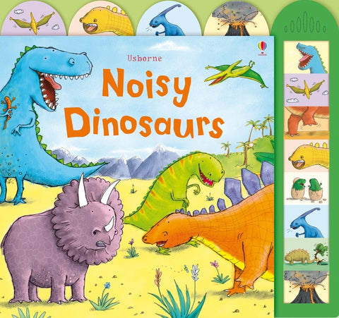 Libro Sonoro in Inglese Noisy Dinosaurs | USBORNE | RocketBaby.it