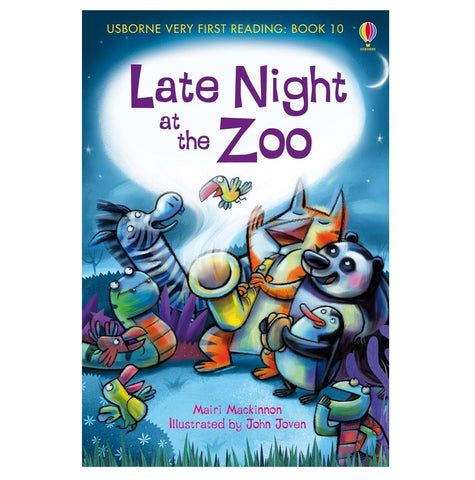 Libro in Inglese Late Night At The Zoo | USBORNE | RocketBaby.it