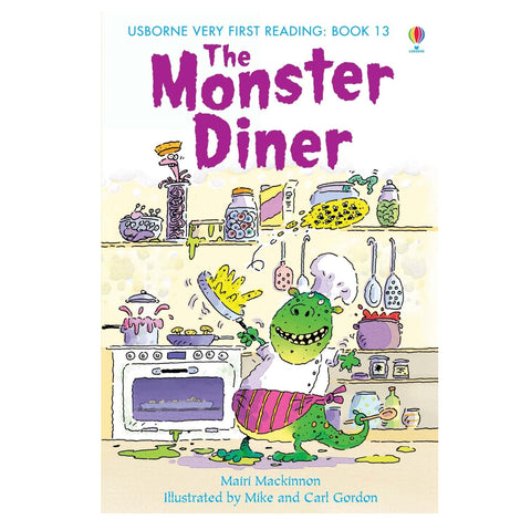 Libro in Inglese The Monster Diner | USBORNE | RocketBaby.it