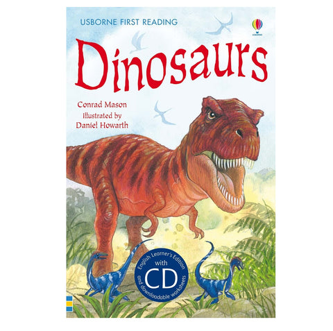Libro in Inglese Dinosaurs con Cd | USBORNE | RocketBaby.it
