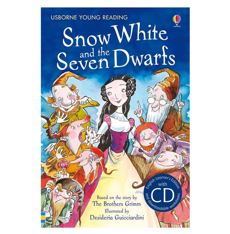 Libro in Inglese Snow White And The Seven Dwarfs con Cd | USBORNE | RocketBaby.it