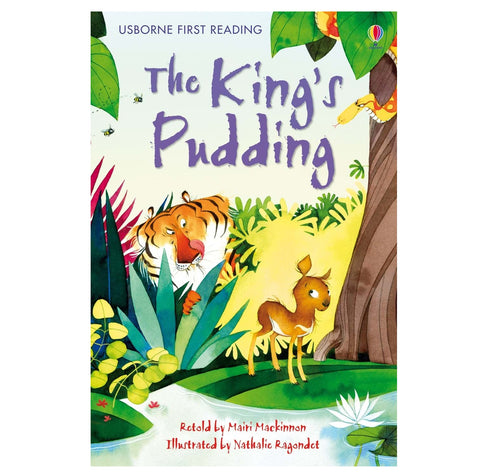 Libro in Inglese The Kings Pudding | USBORNE | RocketBaby.it