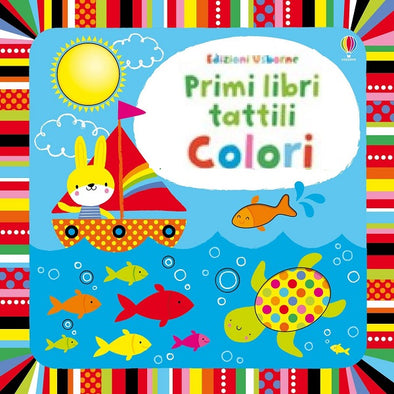 Libro Tattile con Finestrelle Colori | USBORNE | RocketBaby.it