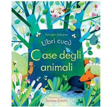 Libro con Finestrelle Case degli Animali | USBORNE | RocketBaby.it