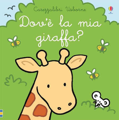 Libro Tattile Dove è la mia Giraffa | USBORNE | RocketBaby.it