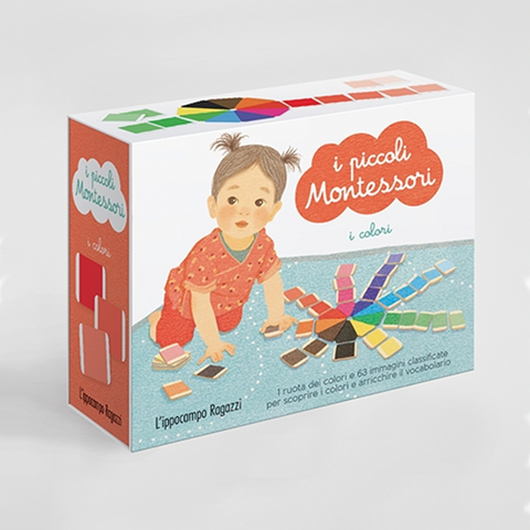 Cofanetto Montessori I Colori | IPPOCAMPO | RocketBaby.it