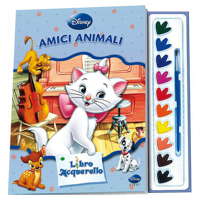 Libro Disney Acquerello Aristogatti Amici Animali | GIUNTI | RocketBaby.it