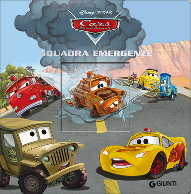 Libro Disney Magie Cartonate Cars Squadra Emergenze | GIUNTI | RocketBaby.it