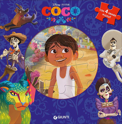 Libro Disney Puzzle Coco | GIUNTI | RocketBaby.it