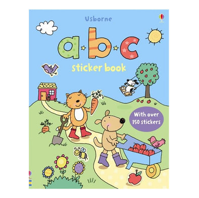 Libro in Inglese con Adesivi Abc Sticker Book | USBORNE | RocketBaby.it