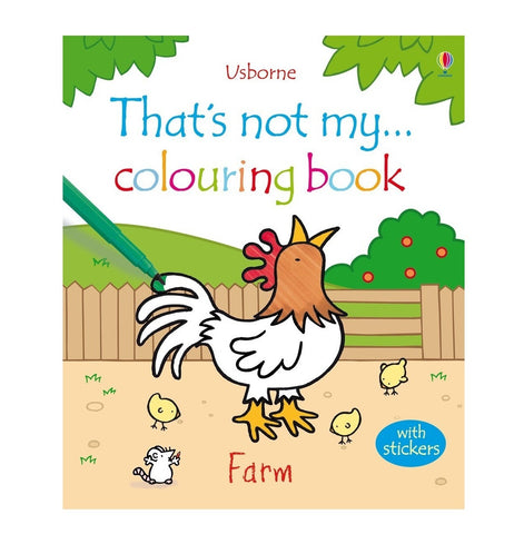 Libro in Inglese da Colorare e con Adesivi Farm | USBORNE | RocketBaby.it