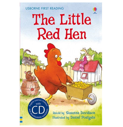 Libro in Inglese The Little Red Hen con Cd | USBORNE | RocketBaby.it
