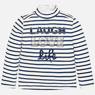 Maglia Lupetto a Righe Blu Navy | MAYORAL | RocketBaby.it