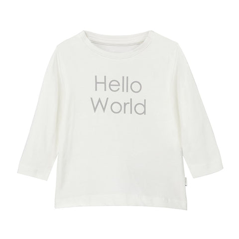 Maglia a Maniche Lunghe Hello World Snow White | NAME IT | RocketBaby.it