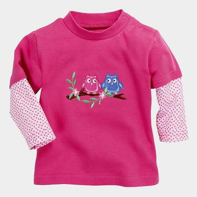Maglia a Maniche Lunghe Owls | PLAYSHOES | RocketBaby.it
