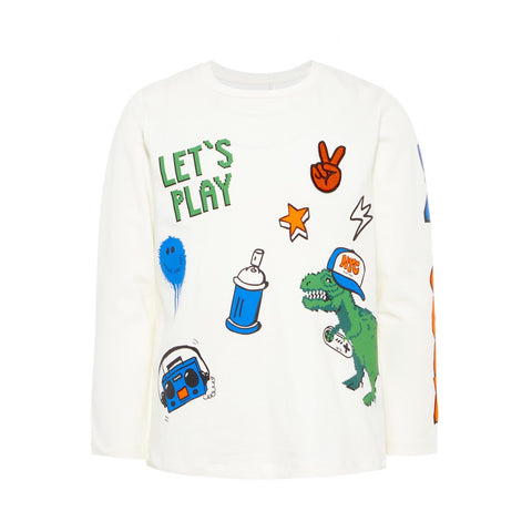 Maglia a Maniche Lunghe Rex Snow White | NAME IT | RocketBaby.it