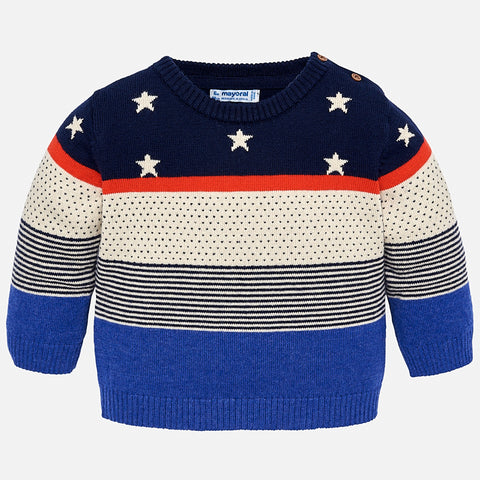 Maglione a Righe e Stelle Colorado | MAYORAL | RocketBaby.it