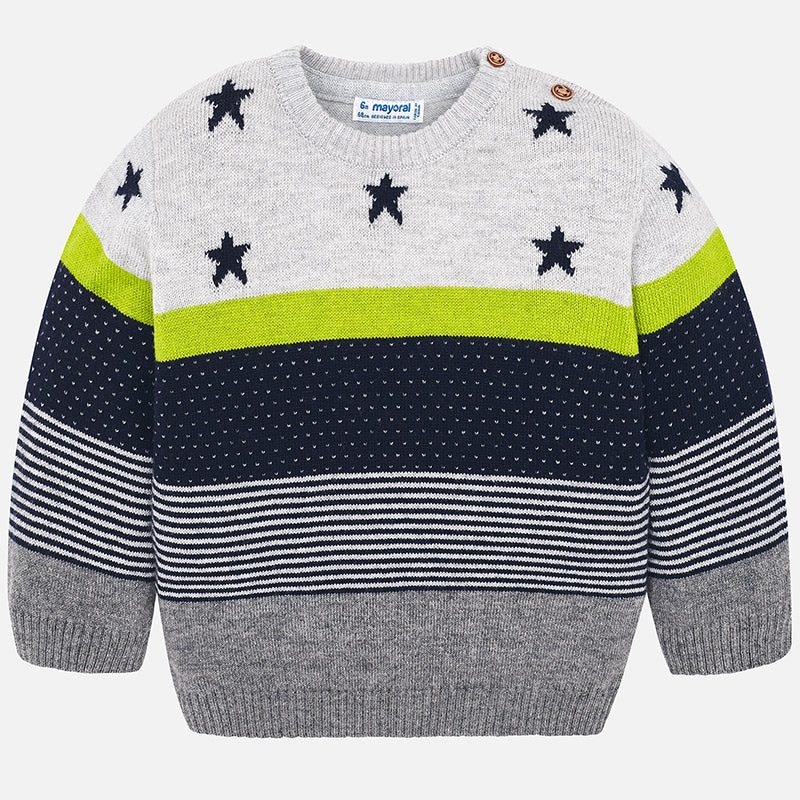 5a48a329e Mayoral-striped Sweater and Kale stars – Rocketbaby