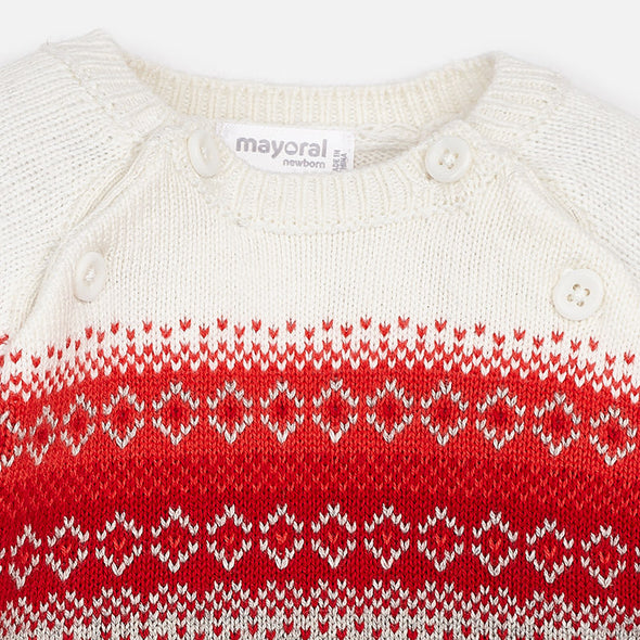Maglione Jacquard Vapore | MAYORAL | RocketBaby.it