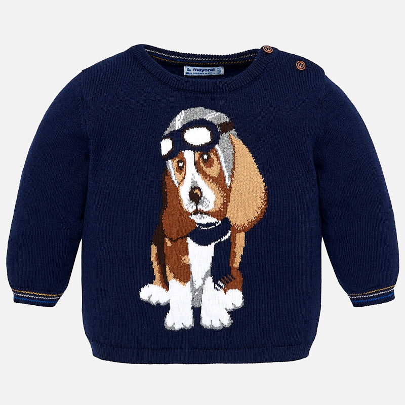 Maglione con Cane Pilota Eclipse | MAYORAL | RocketBaby.it