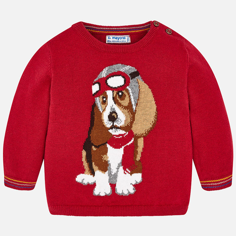 Maglione con Cane Pilota Goji | MAYORAL | RocketBaby.it