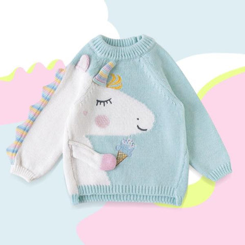 Maglione Unicorn Mint | APERO | RocketBaby.it