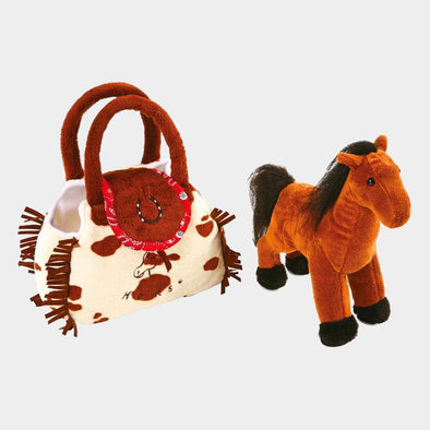 Peluche Pony nella Borsa | LEGLER | RocketBaby.it