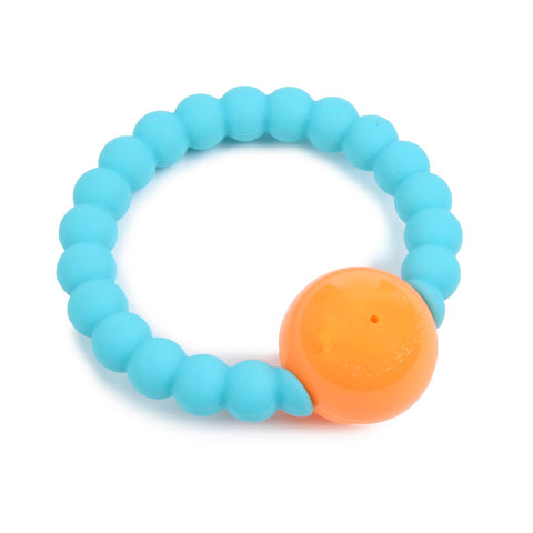 Sonaglio Massaggiagengive Mercer Turquoise | CHEWBEADS | RocketBaby.it