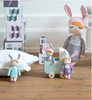 Mini Bambola Coniglio Little Bunny Menta - RocketBaby - 3