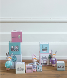 Mini Bambola Coniglio  Little Bunny Violetto - RocketBaby - 3