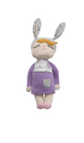 Mini Bambola Coniglio  Little Bunny Violetto - RocketBaby - 1