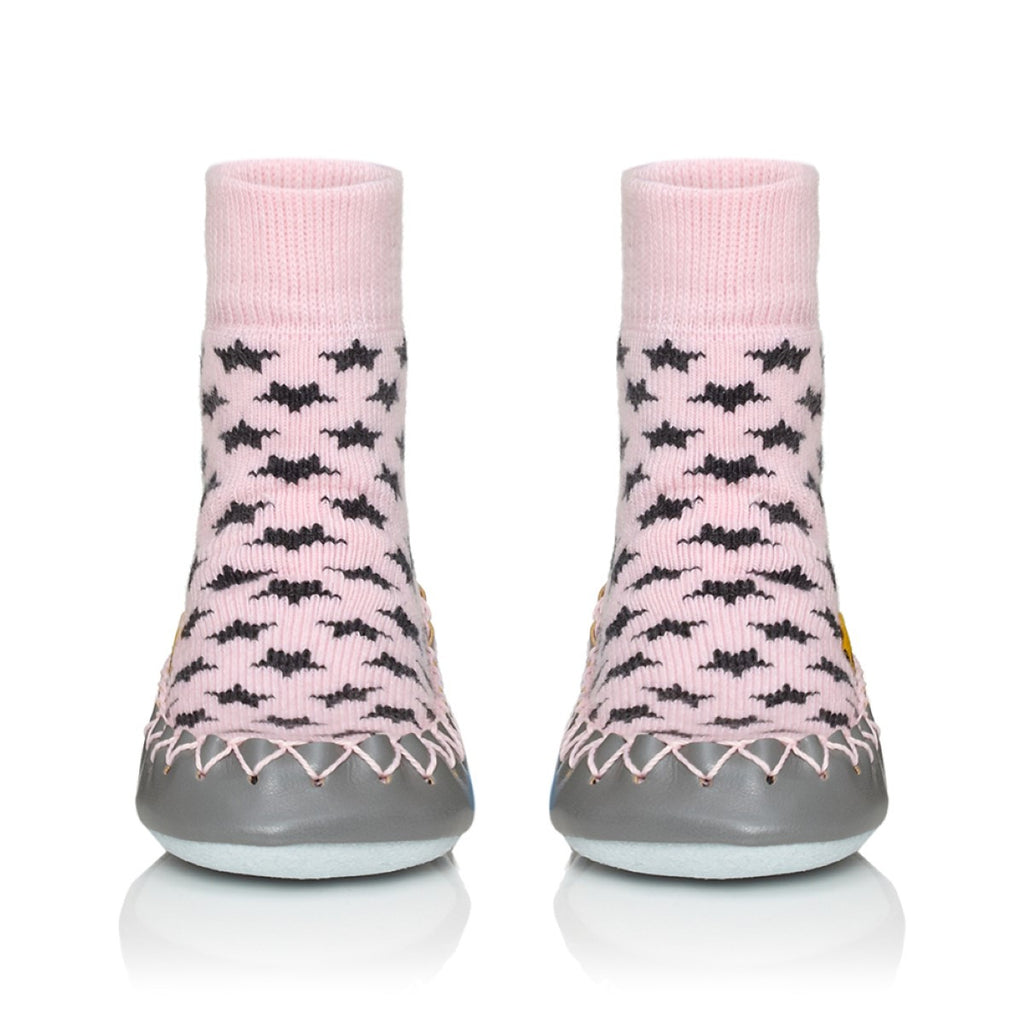 Mocassino da Casa Cool In Pink Baby e Adulto - MOCCIS - RocketBaby.it - RocketBaby