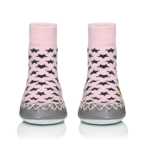 Mocassino da Casa Cool In Pink Baby e Adulto |  | RocketBaby.it