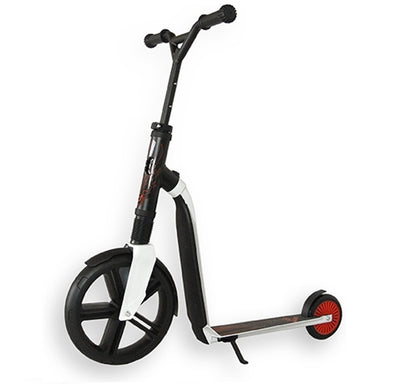 Bici e Monopattino 2 in 1 Highwaygangster White Red | SCOOT AND RIDE | RocketBaby.it