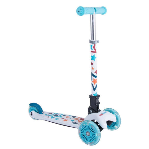 Monopattino Pieghevole Stelle | KIDDIMOTO | RocketBaby.it