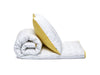 Set Copripiumino Lettino Lettere Giallo Double Face 90x120 - RocketBaby - 6