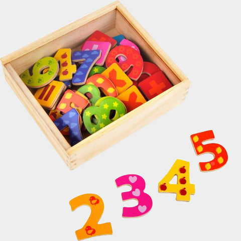 Set di Calamite Numeri | LEGLER | RocketBaby.it