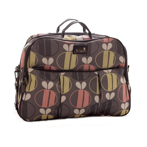 Borsa Fasciatoio E Lettino Da Viaggio Bee Print | BIZZI GROWIN | RocketBaby.it