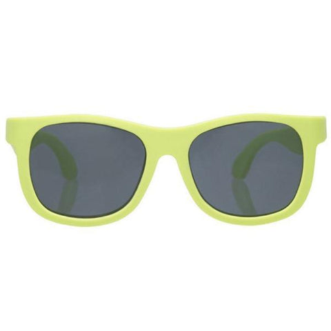 Occhiali da Sole Flessibili Navigators Sublime Lime | BABIATORS | RocketBaby.it