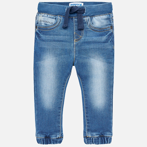 Pantaloni Jogger Jeans Basic | MAYORAL | RocketBaby.it