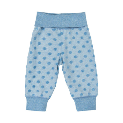 Pantaloni Lunghi Smoke Blue Melange | PIPPI | RocketBaby.it
