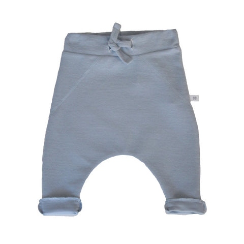 Pantaloni Tinta Unita In Bamboo Light Blu | BAMBOOM | RocketBaby.it