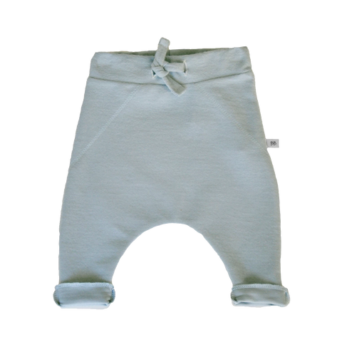 Pantaloni Tinta Unita In Bamboo Green | BAMBOOM | RocketBaby.it