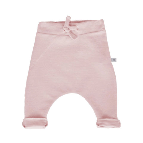 Pantaloni Tinta Unita In Bamboo Pink | BAMBOOM | RocketBaby.it